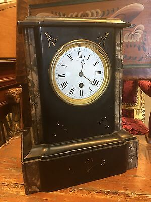 Victorian French Marble Clock. Open To Offers.