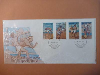 Tokelau Sports Issue First Day Cover 1981