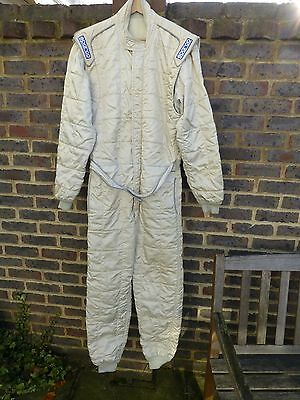 Sparco FIA Race/Rally suit size 60 & Kneck support