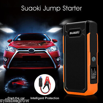 20000mAh 800A 12V Car Jump Starter Vehicle Booster Charger Pack USB Power Bank