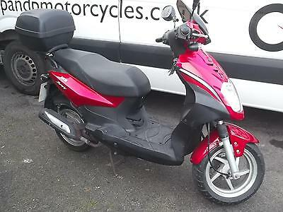 2008 Sym Symply 125cc Scooter RED