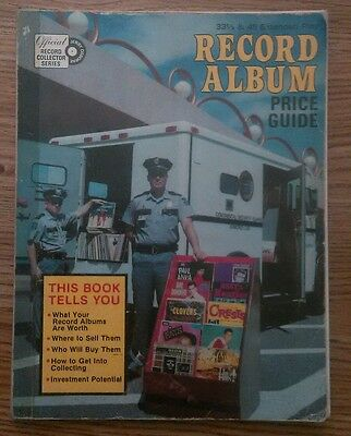 """""""Record Album Price Guide"""" U.S. 1977 first edition complete in vg- cond Beatles"""