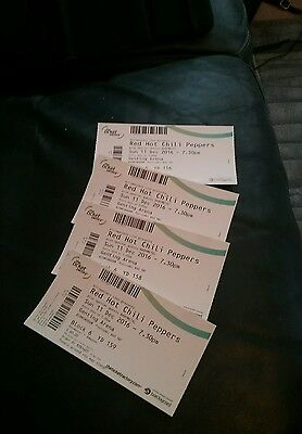 red hot chili peppers Tickets