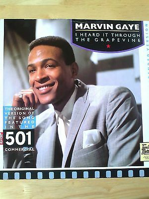 """Marvin Gaye - 4 track 12"""" Motown Single inc Grapevine & Can I Get A Witness"""