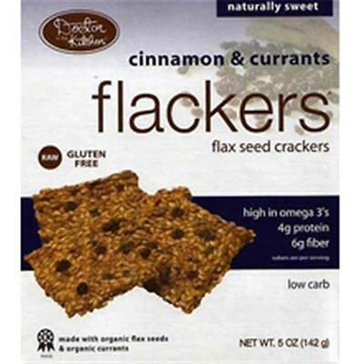 Dr. In The Kitchen Cinnamon Currant Flackers 5 Oz -Pack of 12