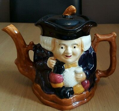 Vintage Shorter & Sons Staffordshire  Toby Teapot