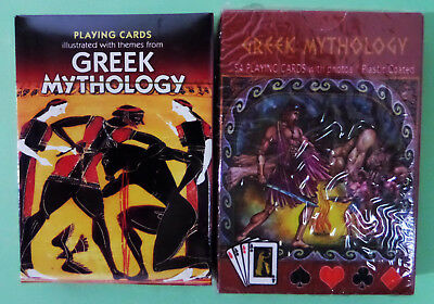 Greek Mythology - A Deck of Playing Cards