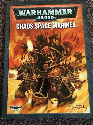 Warhammer 40k Codex Chaos Space Marines Games Workshop 2007
