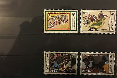 MINT stamps - Sao Tome & Principe 'Year of the Child' 1979