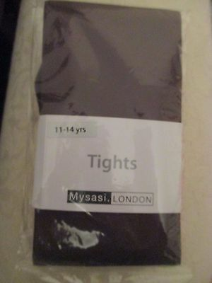 Mysasi brown tights age 11-14.Brand new .Van be used for Malory Towers costume