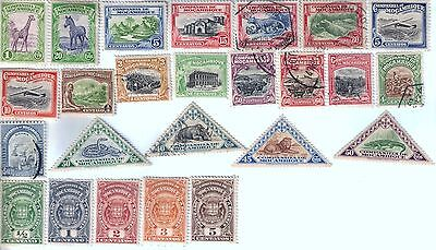 25 different older used stamps from Mozambique Company
