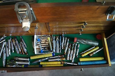 LARGE LOT OF MACHINIST'S tool die maker TOOLS