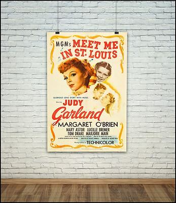 Meet Me In St Louis Classic Vintage Movie Poster / Photo All Sizes Repro UC1542