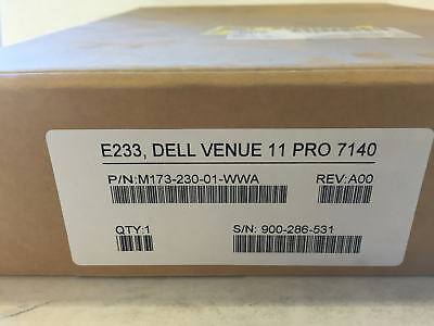 New DELL Venue 11 Pro 7140 VeriFone E233 M173-230-01-WWA POS PayWare (Not Tablet