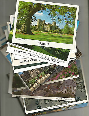 33 Postcards From  County Dublin,  Ireland, Mainly Of Dublin City, Mainly Unused
