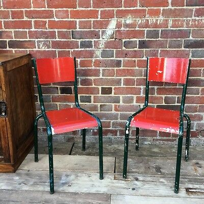 Industrial Vintage French Cafe Restaurant Bistro Tolix Garden Kitchen Chairs