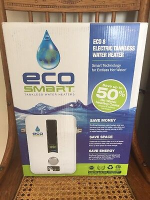 Eco Smart, Eco8 Tankless Water Heater, Brand New