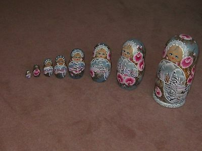 Russian Dolls Set of eight,