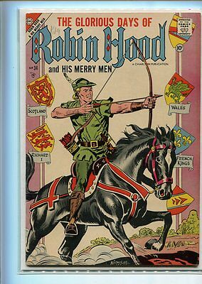 Robin Hood #34 Higher Grade Classic Cover