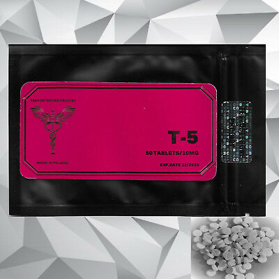 T5 - High Performance Hardcore Fat Burner . Extreme Diet Pills- 50 TABLETS/10mg