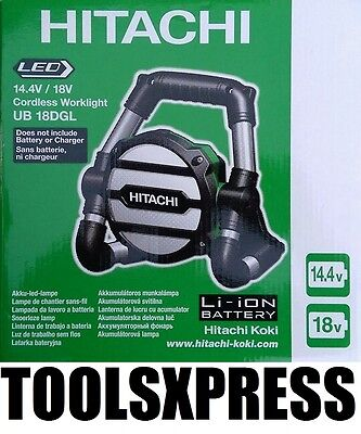 NEW Hitachi 14.4/18V LED Cordless Worklight UB18DGL - LIGHT ONLY