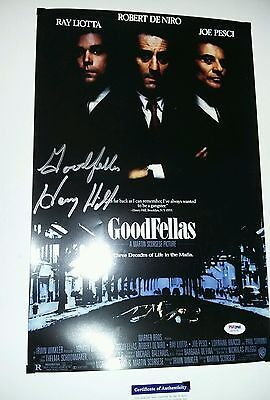 Goodfellas Movie Poster Signed by Henry Hill PSA/DNA Certified Authentic