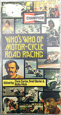 CHAMPION Who's Who of Motor-Cycle Road Racing, 1976. Agostini Haslam Read Sheene