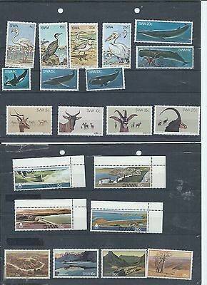 South West Africa stamps. 1979, 1980 & 1981 lot MNH/MH  (Y167)
