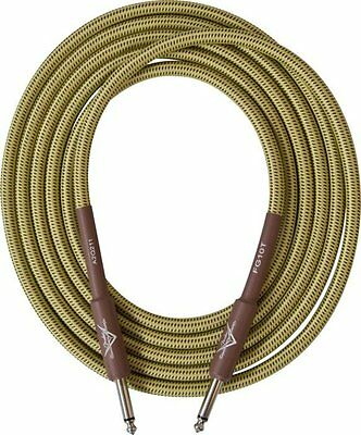Fender Custom Shop Performance Gold Tweed Jack Instrument Cable (Various Sizes)
