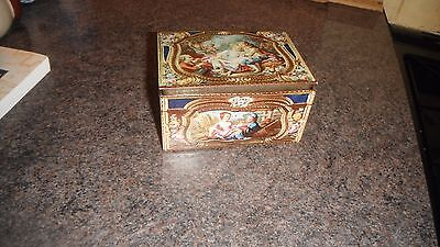 French Snuff Box Reproduction Tin