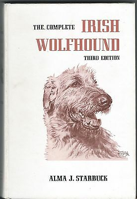 Dog Book THE COMPLETE IRISH WOLFHOUND Starbuck HB3ED1986 PHOTOS GREAT BREED BOOK