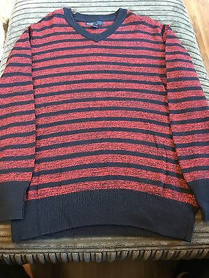 Boys Gap Jumper Navy/red Size 8-9 Years