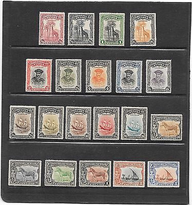 "Stamps: Portugal (Nyassa Company) 1921 ""definitive's"" Set Of 20 (M/mint)"