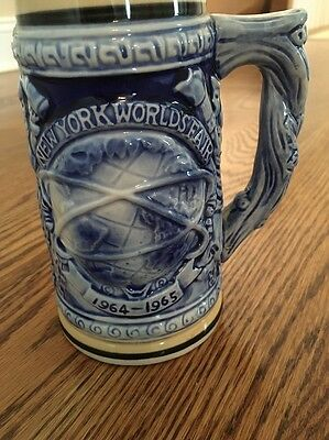 New York World's Fair 1964 1965 Beer Stein Mug Official Souvenir Unisphere