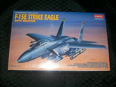 Academy 1/48 scale F-15E Strike Eagle with Weapons