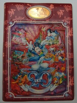Japan Tokyo Disney  Penny Book Elongated Pressed Coin Album 27 coin lot