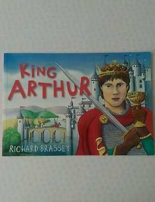 King Arthur Paperback Children's Book By Richard Brassey NEW