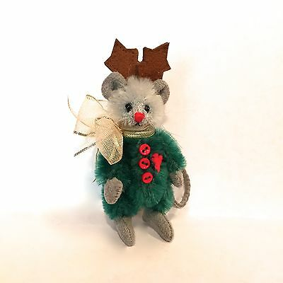 "Deb Canham's ""prancer"" From Her Mini Mices Collection"