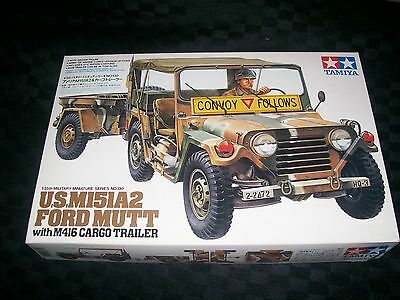 Tamiya 1/35th scale US M151A2 Ford Mutt with M416 Cargo Trailer