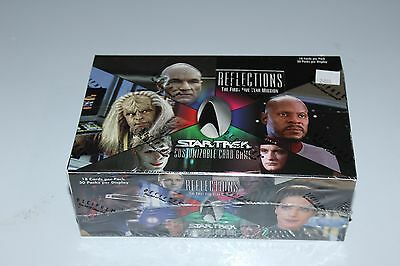 STAR TREK Card Game CCG REFLECTIONS 30 pack/18 cards Sealed Booster Box bx6