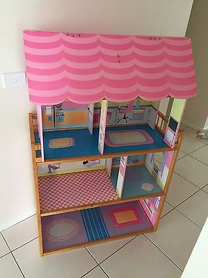 Large Doll House And Furniture