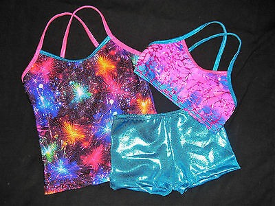 STUNNING LEOTARD/GYMNASTICS/DANCE - CLEARANCE SET - NEW - GIRLS 10, Girls 12 !!!