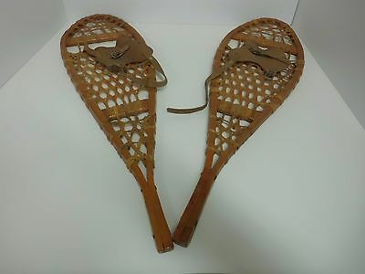 First nation Child Wood Snowshoes