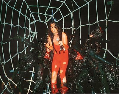Alice Cooper 11x14 Concert Photo Welcome to My Nightmare Trash Lace and Whiskey