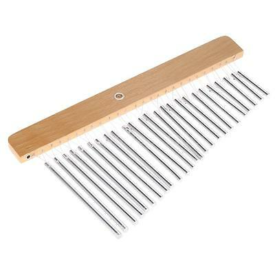 Percussion Bar Chimes Single Row 25 Bars Musical Instrument for Kids I4A0