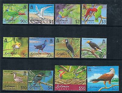 Solomon Is 2001 Birds SG976/87 MNH