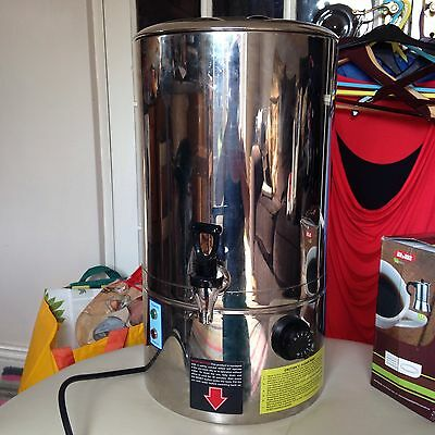 XAM Stainless Steel 20 Litre Electric Catering Hot Water Boiler Tea Urn