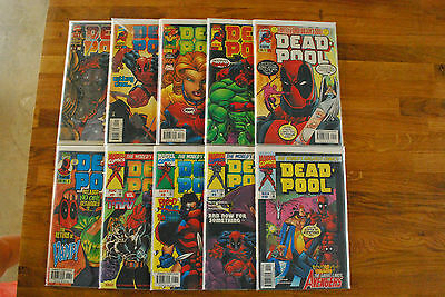 Deadpool 1-69  VF+ to NM FIRST EDITION
