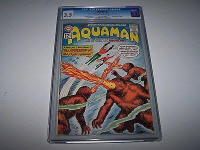 Aquaman #1 CGC 3.5 OW/W *SUPER KEY! **1st Issue / First Quisp** ~ MAKE AN OFFER!