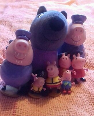 selection of peppa pig toys